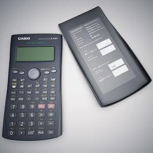 3d casio calculator