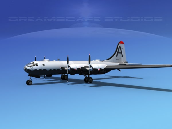 superfortress b-29 bomber dwg
