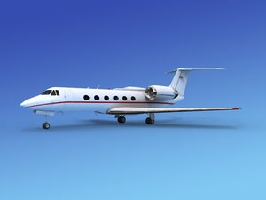 3ds max gulfstream executive jets