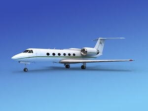 3ds gulfstream executive jets