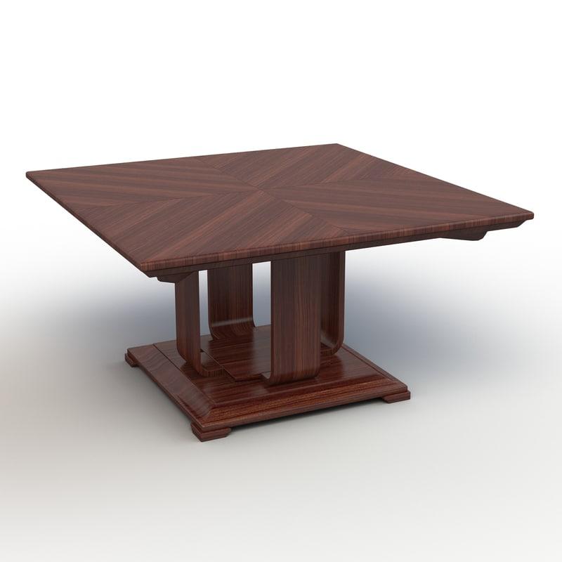 max denske square table