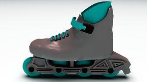3d model skating