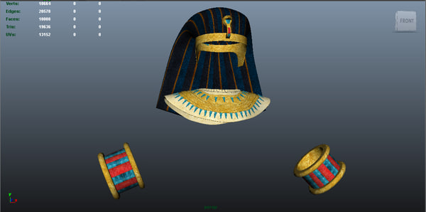 ancient egyptian customs 3d ma