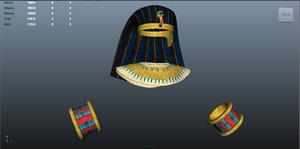 ancient egyptian customs 3d ma