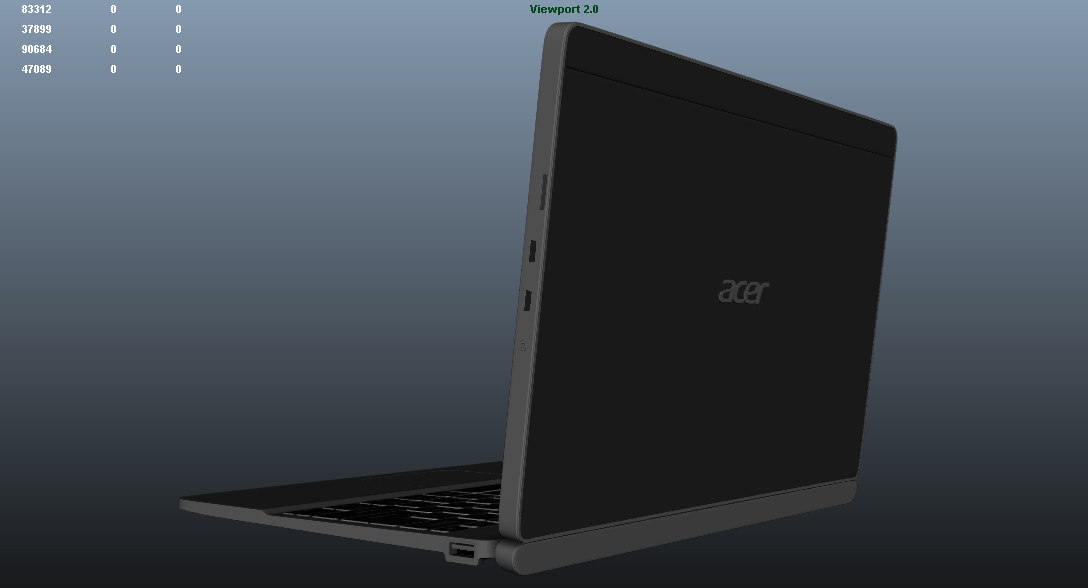 3d acer aspire switch 10
