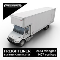 3d 2006 freightliner business class model