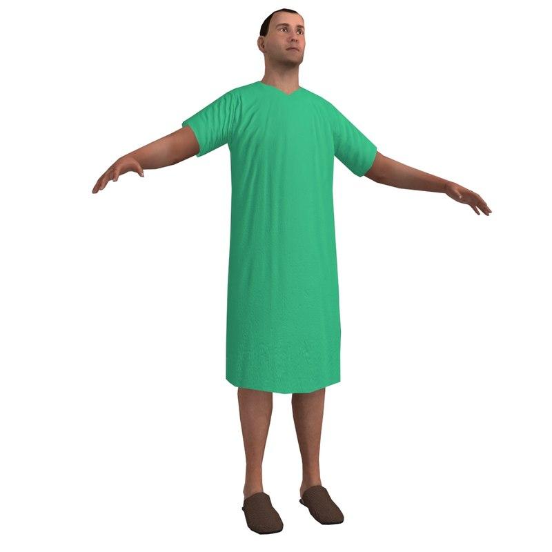 3d human man male model