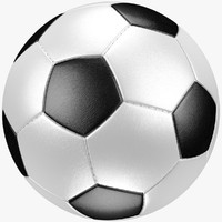 classic soccer ball 3d model