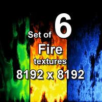Fire 6x Textures