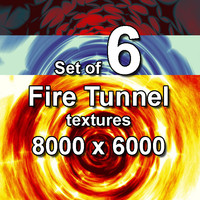 Fire Tunnel 6x Textures