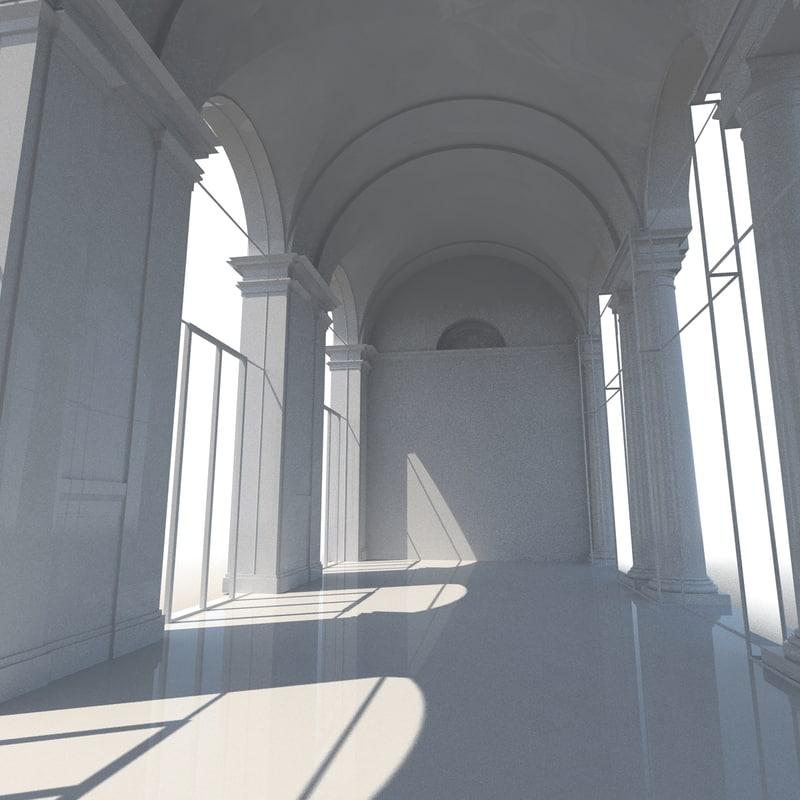 3d museum gallery