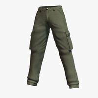 carhartt rugged cargo pant 3d model