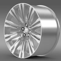 3d model chrysler 300c 2012 rim