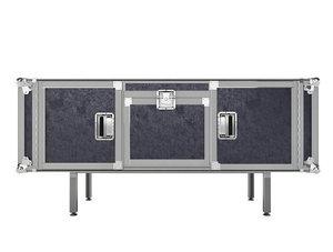 3d flightcase flight case model