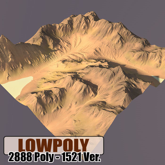 3dsmax terrain games maps