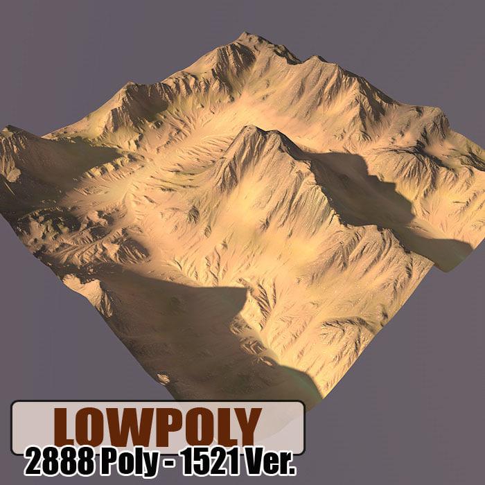 terrain games maps 3d model