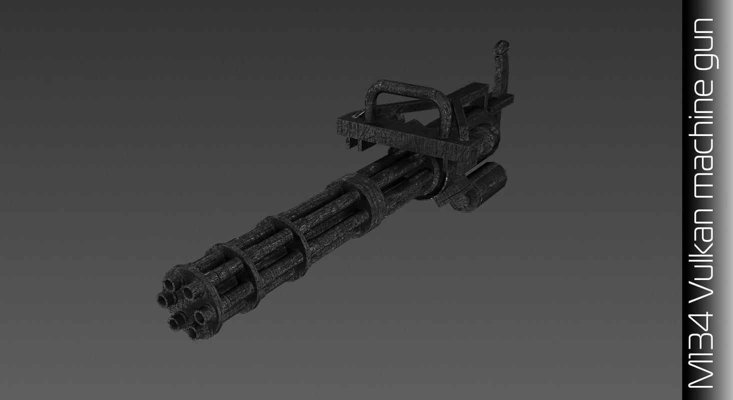 max machine m134 vulcan
