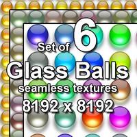 Glass Balls 6x Seamless Textures