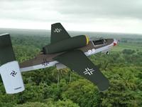 fighter jets heinkel 162 dwg