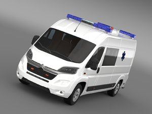 citroen jumper ambulance 2015 lwo