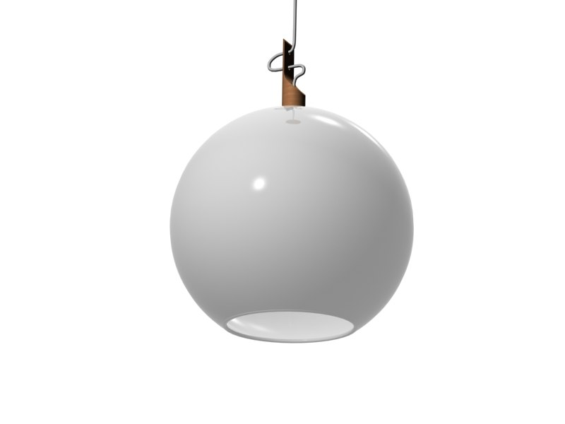 free max mode globo hanging lamp