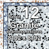 Granite 12x Seamless Textures
