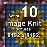 Image Knit 10x Textures