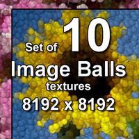 Image Balls 10x Textures