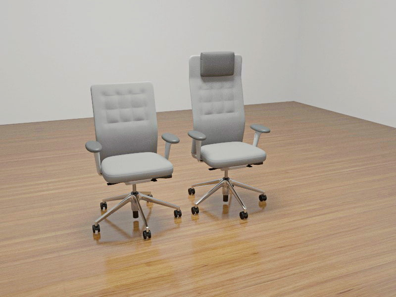 3d vitra chair model