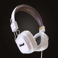 marshall major headphones 3d max