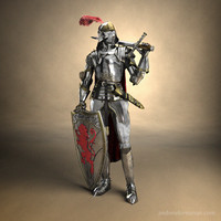 Medieval Knight Combat Armor
