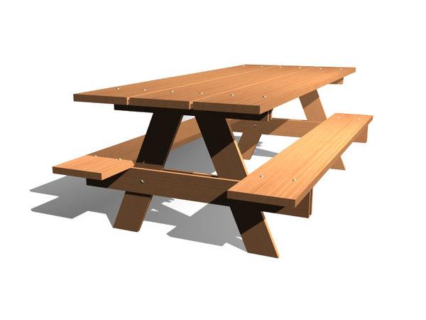 picnic table max free