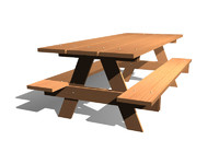 picnic table max free