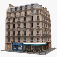 Paris Corner Tenement Restaurant 03