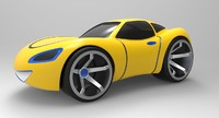 Toy Car for 3D Print