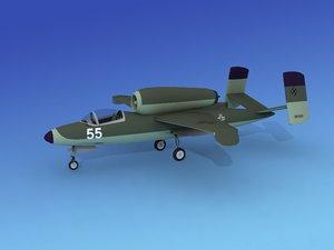 3d fighter jets heinkel 162 model