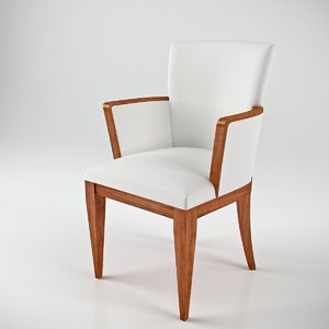 annibale colombo a1248 armchair 3d max