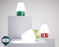 3d model lamp dab tafellamp