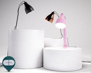 3d lamp barefoot tafellamp