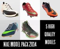Nike Shoe Model Pack 2014