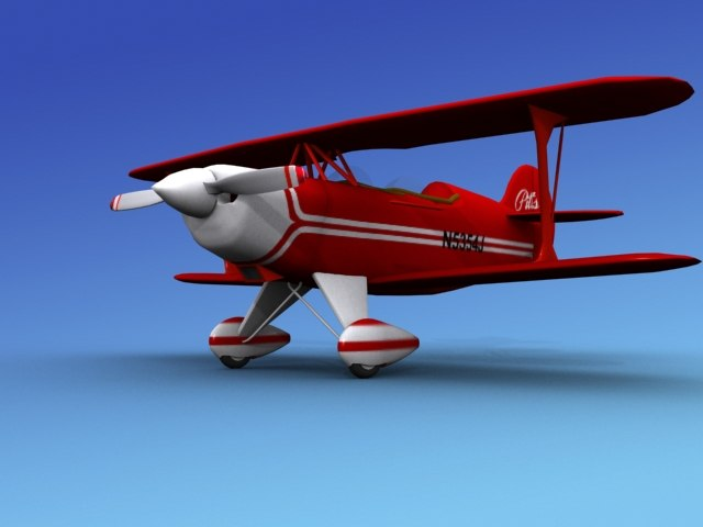 propeller pitts special 3d max