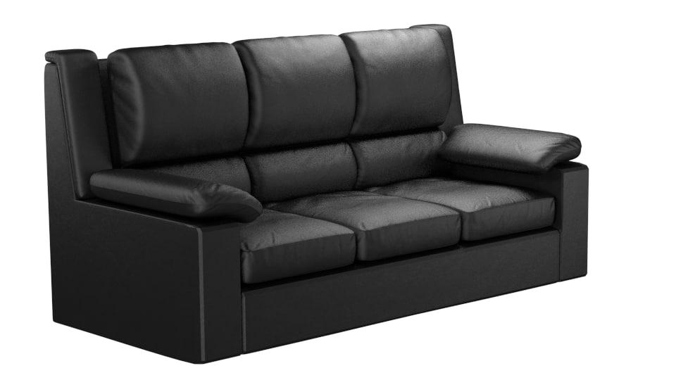 max sofa sculpted modelled