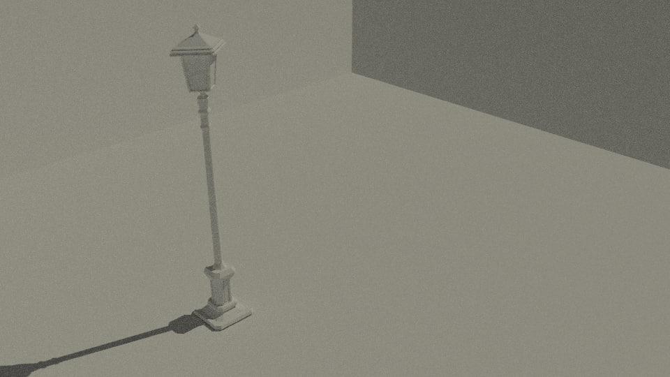 3ds street light basic