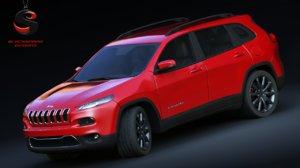 3d jeep cherokee 2015 model