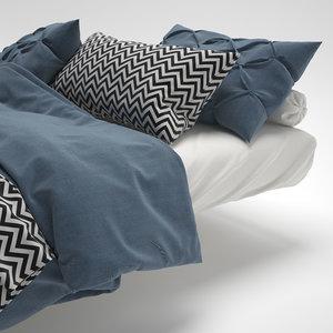 max bed bedclothes clothes