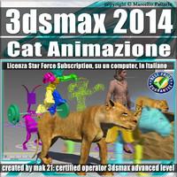 3ds max 2014 Cat Animazione Subscription