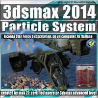 3ds max 2014 Particle System e Particle Flow Subscription