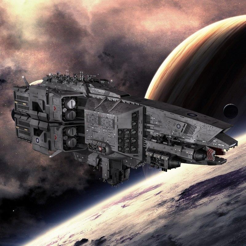 titan destroyer turrets 3d model