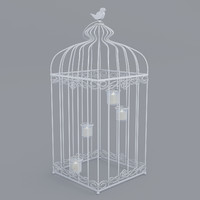 cage candle ornament