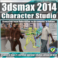 3ds max 2014 Character Studio Subscription